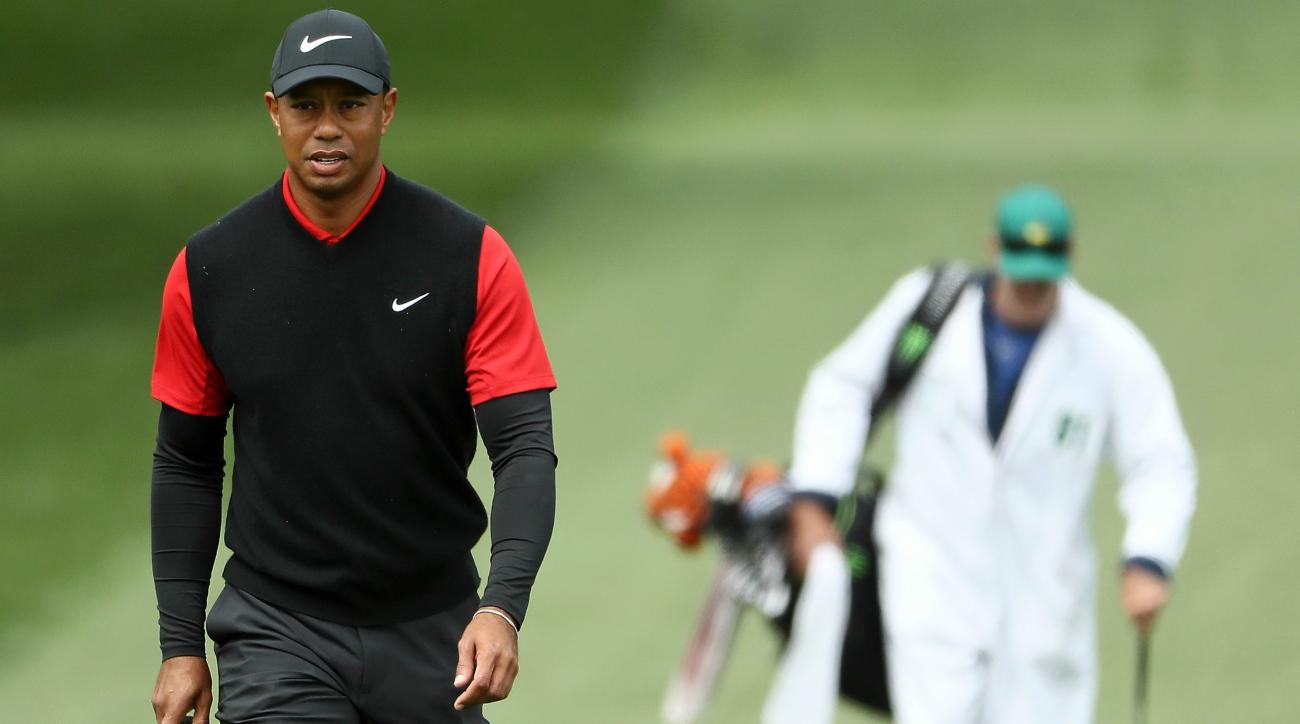 Tiger Woods Sunday Masters Augusta score feature story