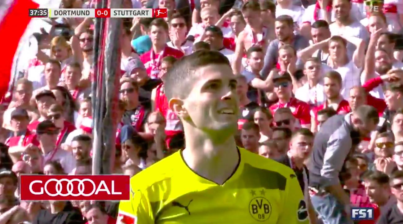 Pulisic scores spectacular goal from flank to end slump