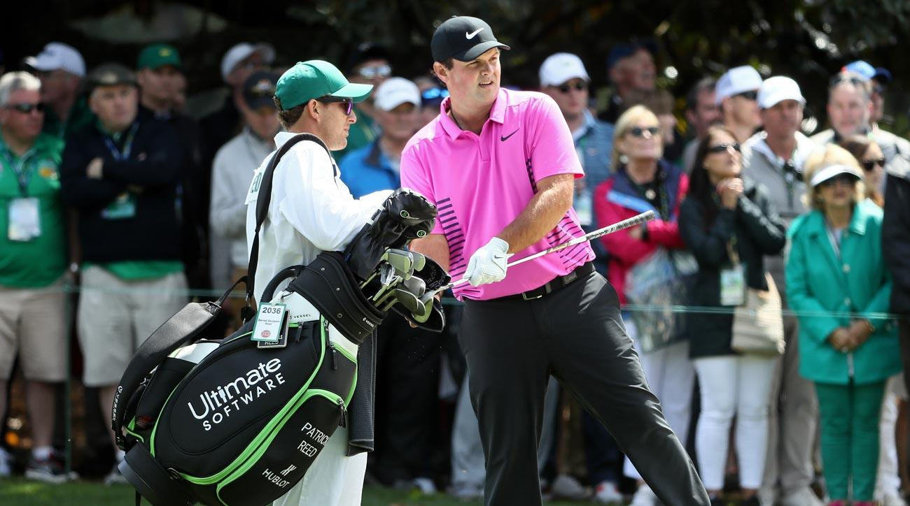 Patrick Reed on Sunday at the 2018 Masters
