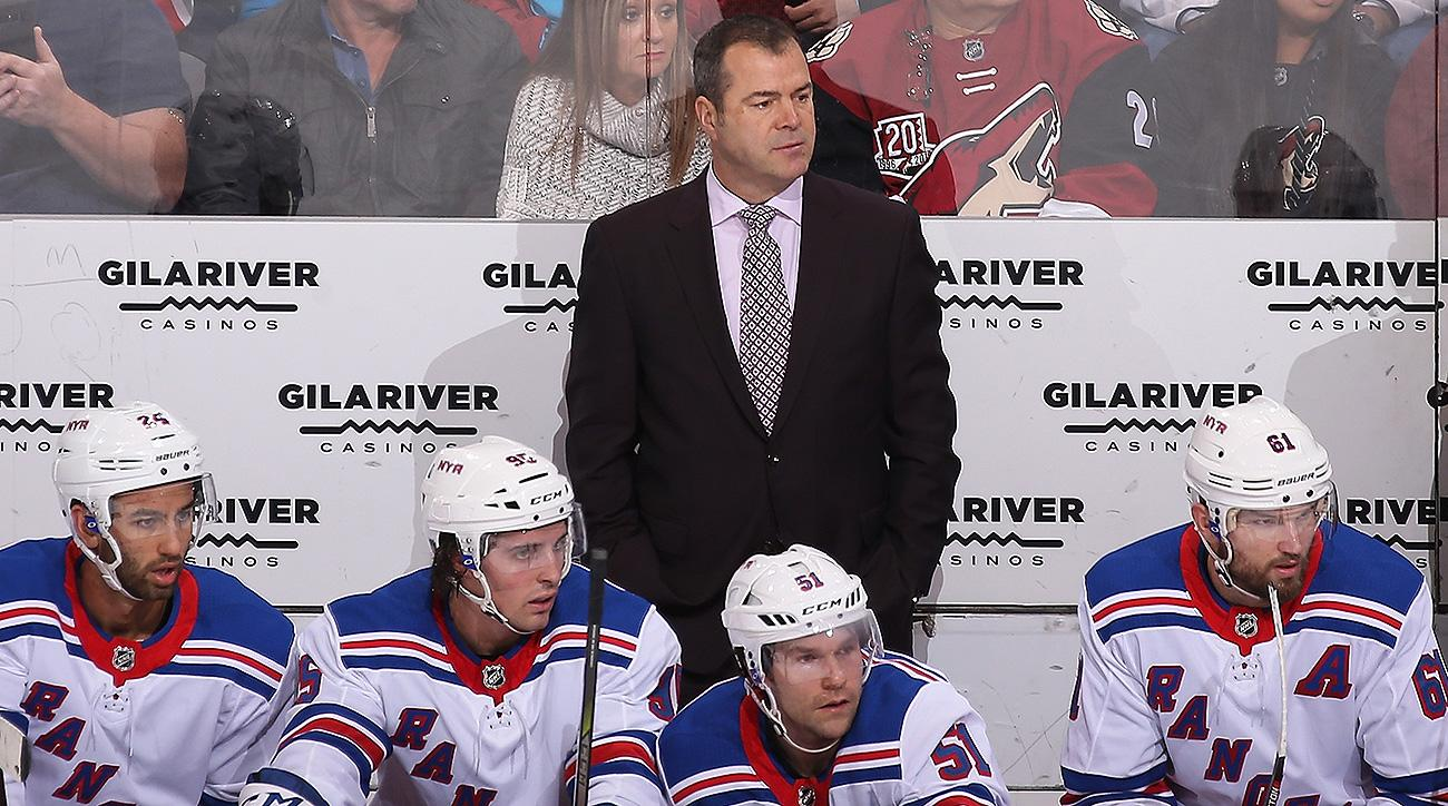 New York Rangers Alain Vigneault