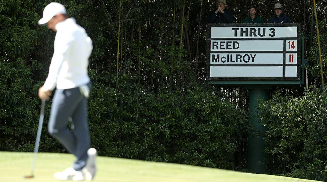 Rory McIlroy hit few greens and made fewer putts Sunday at Augusta National.