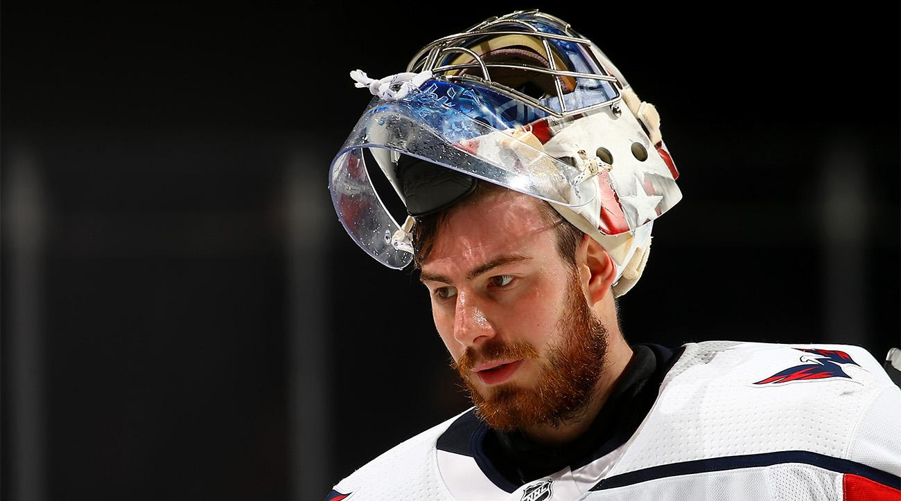 Capitals Bench Holtby To Open NHL Playoffs