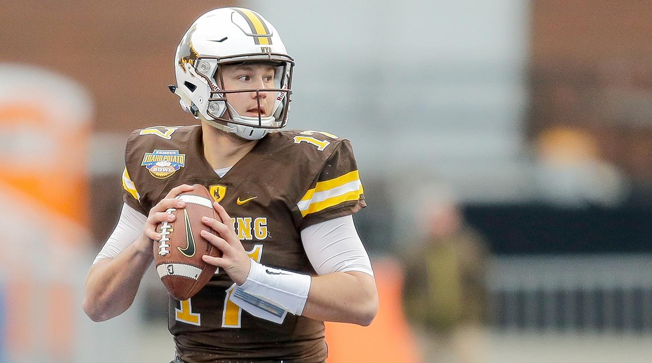 size 40 bbe4a 9a2f3 Josh Allen: Wyoming QB sorry for racist HS tweets | SI.com