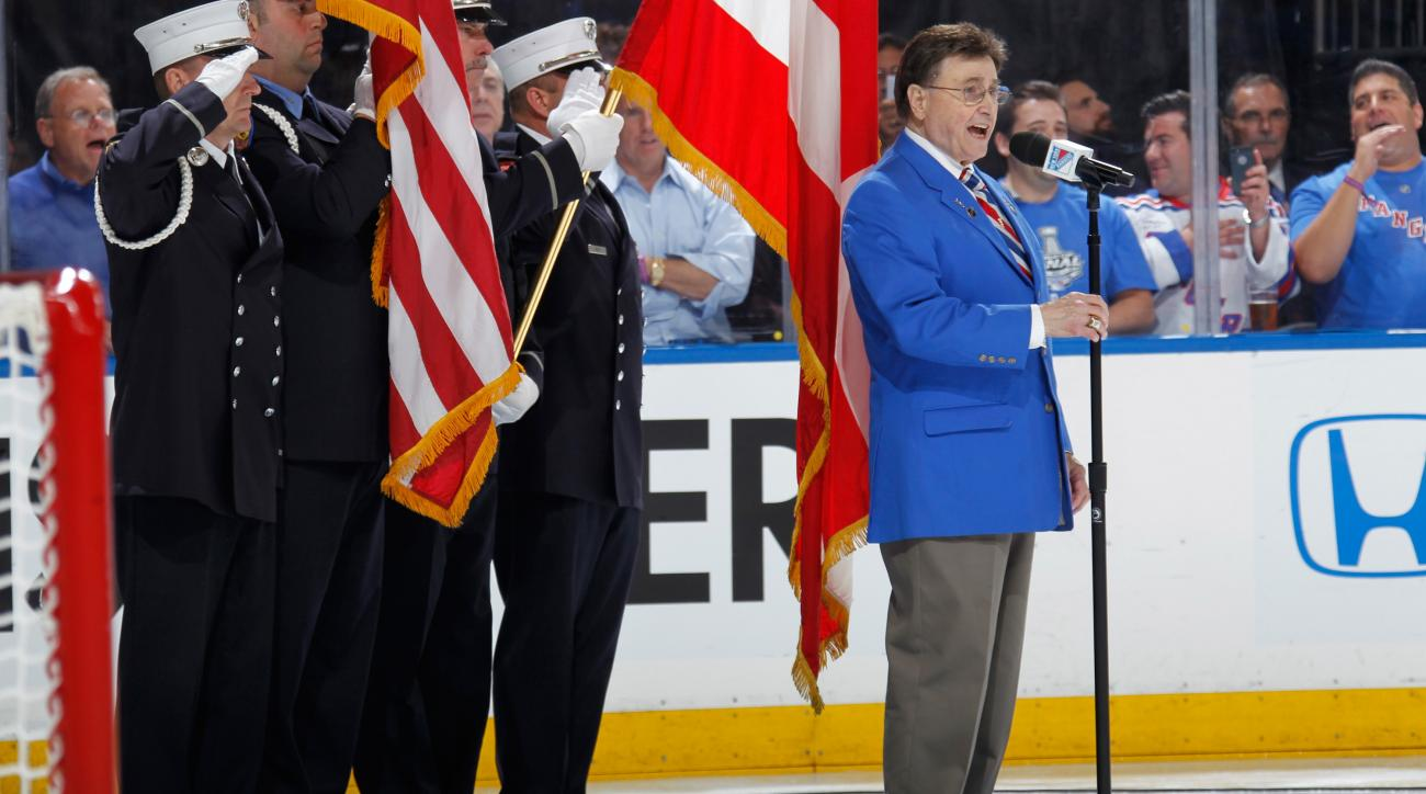 John Amirante dead: Rangers national anthem singer dies at 83