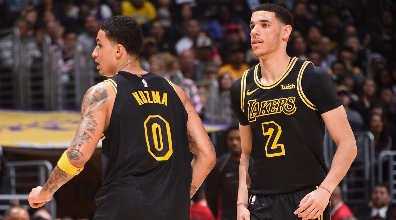 Kyle Kuzma and Lonzo Ball