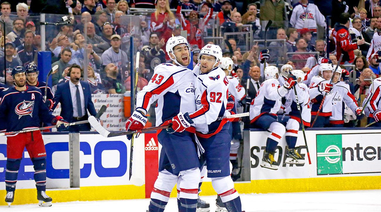 Capitals win to draw even with Blue Jackets