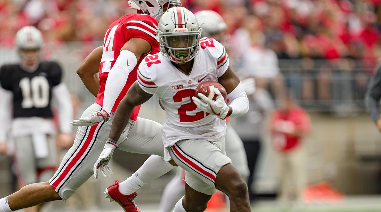 Parris Campbell, Ohio State receivers filling J.T. Barrett leadership void