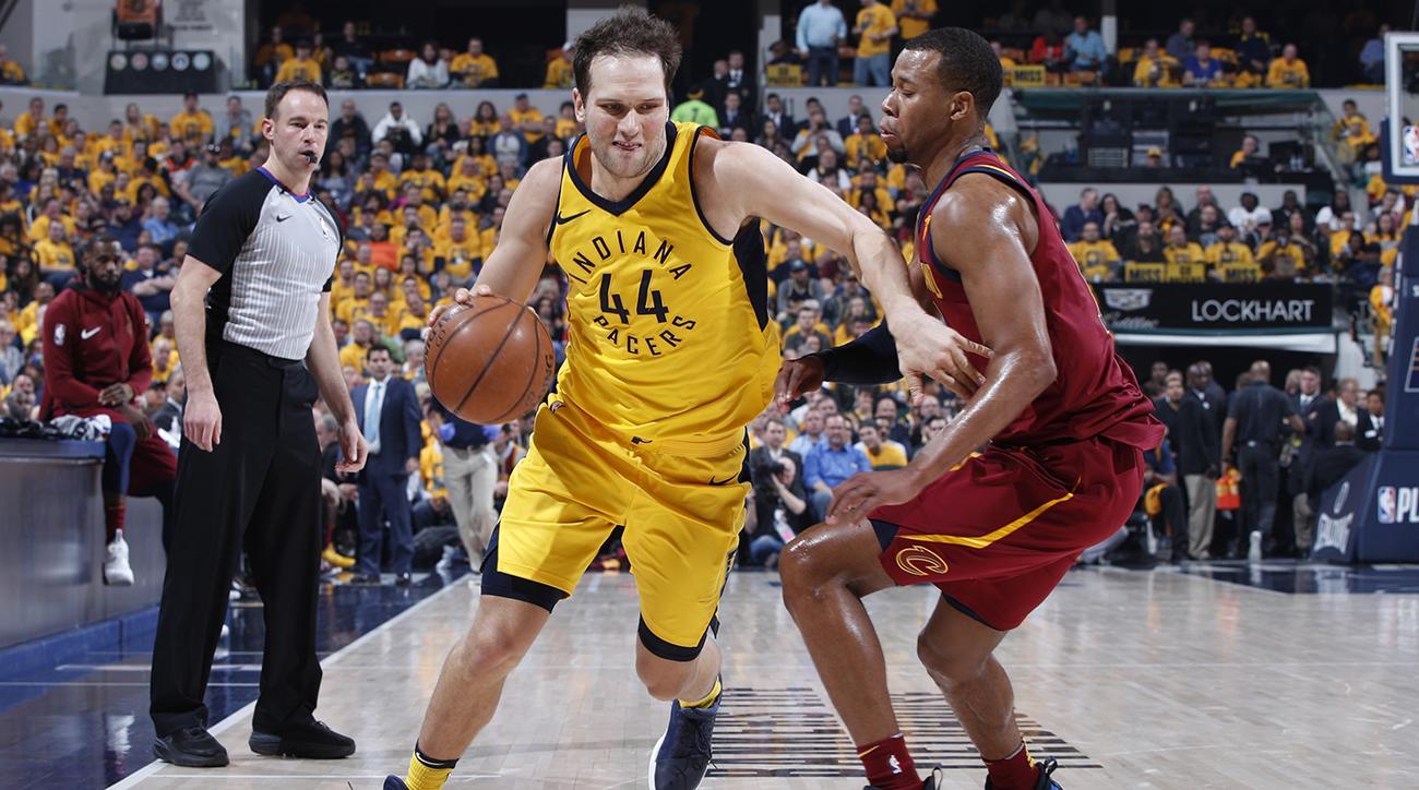 458de891e NBA Playoffs  Bojan Bogdanovic Stars as Pacers Win Game 3 Over Cavs ...