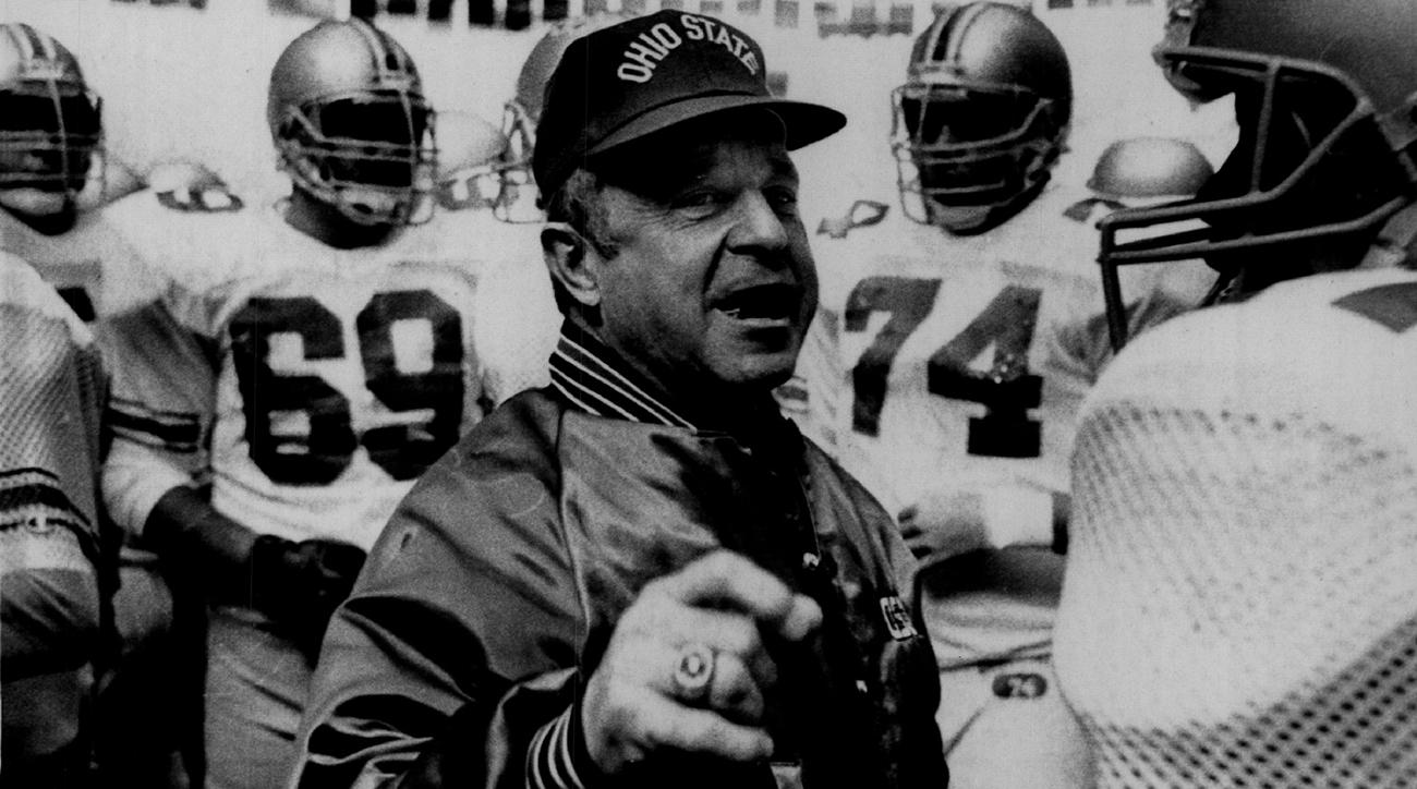 earle bruce, earle bruce dies, ohio state, ohio state football