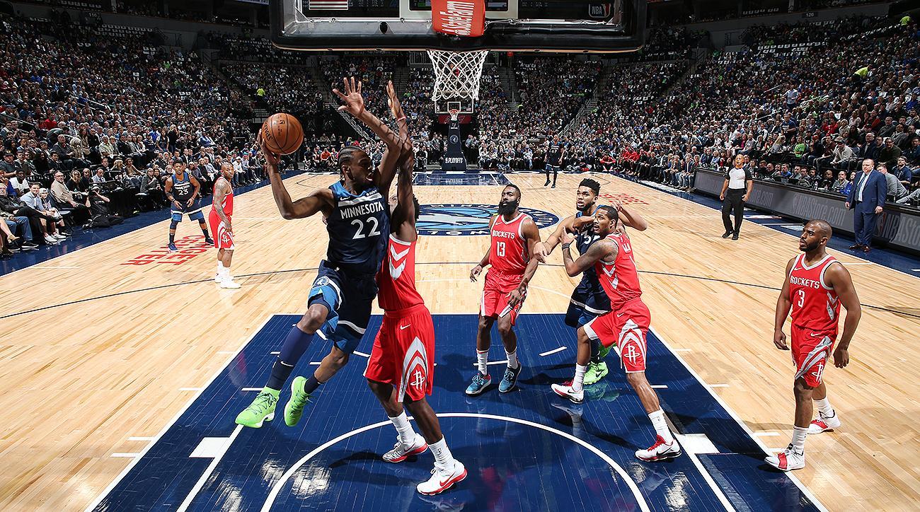 Rockets vs. Timberwolves Game 3