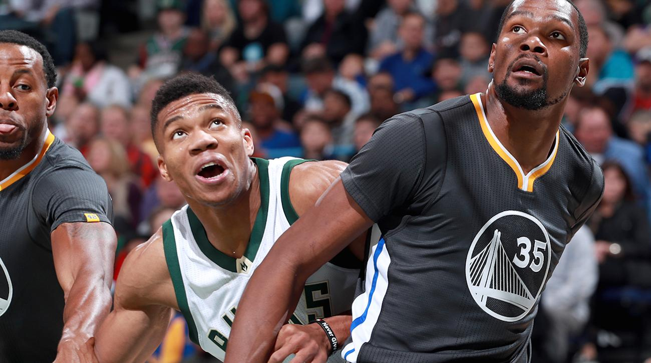 203a705aa849 Kevin Durant advises Giannis Antetokounmpo to  play for himself ...