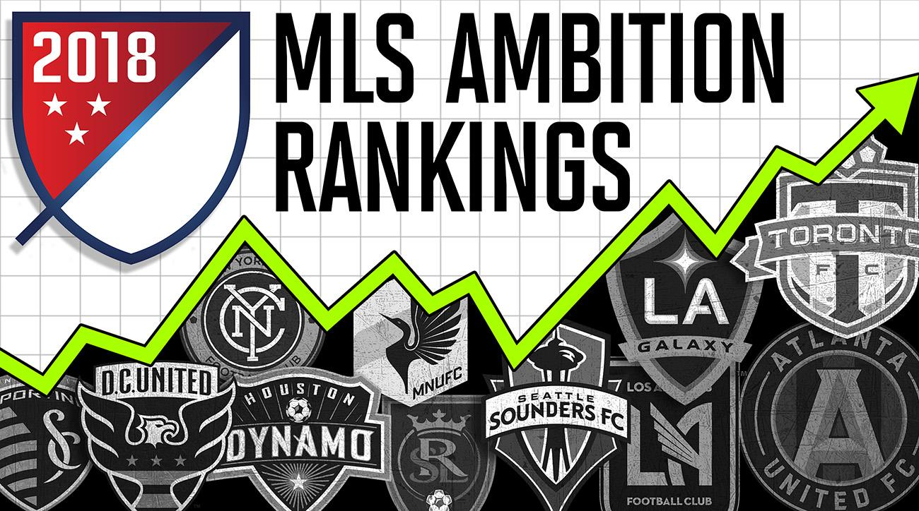 Atlanta United leads the way in our 2018 MLS Ambition Rankings