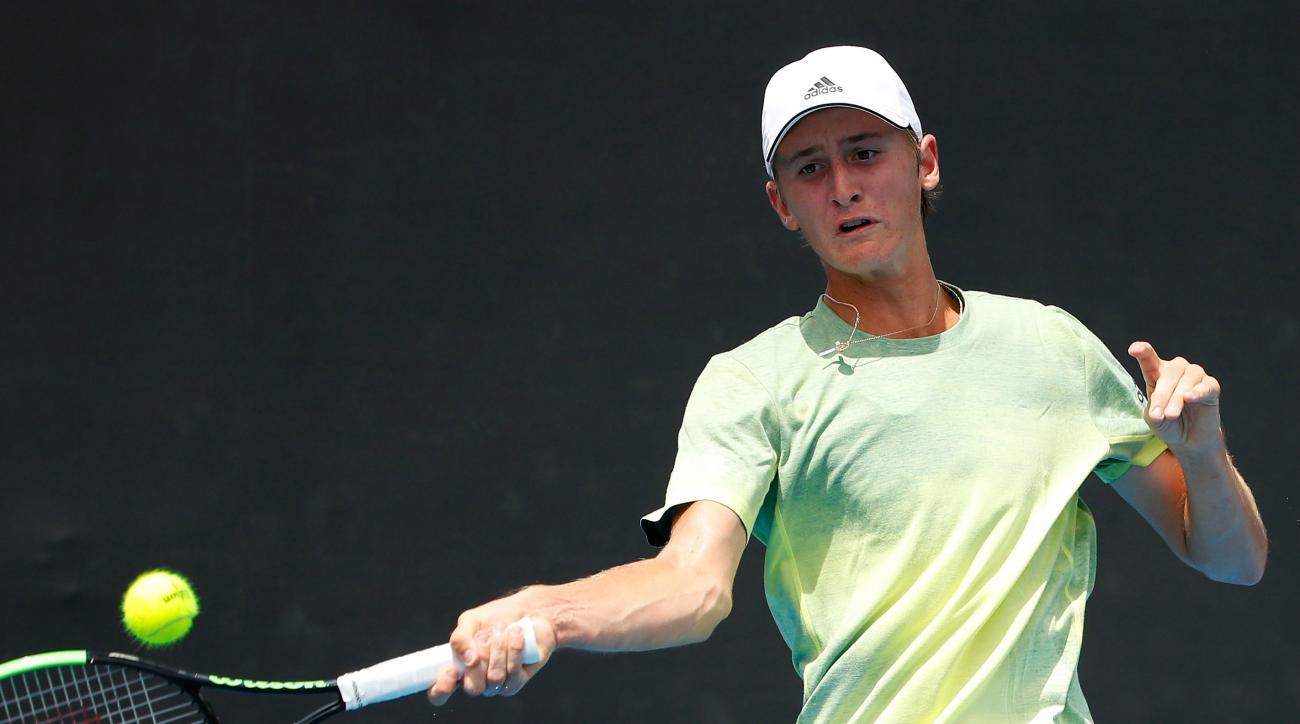 Sebastian Korda australian open juniors american tallahassee challenger