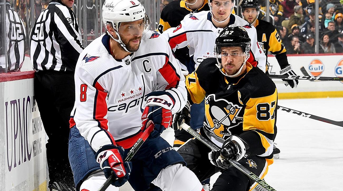 5d7201d513a Washington Capitals-Pittsburgh Penguins  Alex Ovechkin vs. Sidney ...