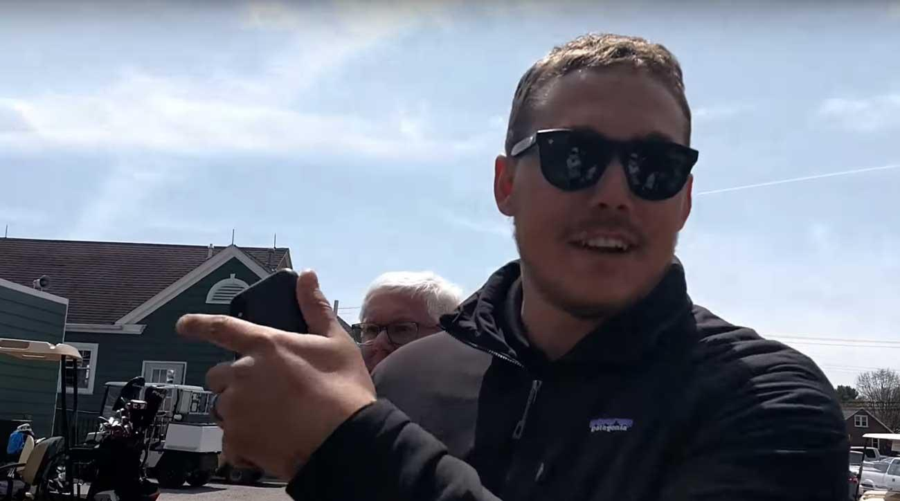Course owner Jordan Chronisterwas involved in the confrontation. The complete video can be found below.