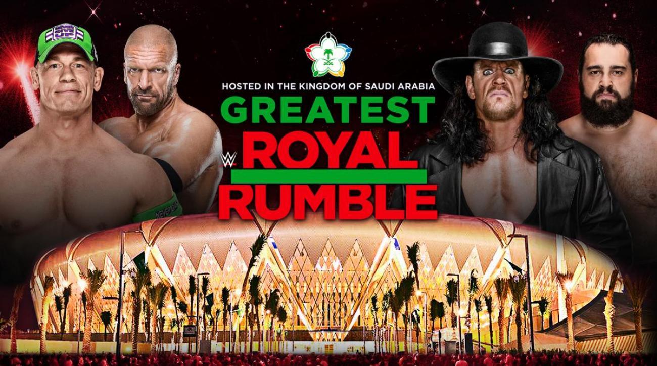 WWE Greatest Royal Rumble: Start time, match card, run time