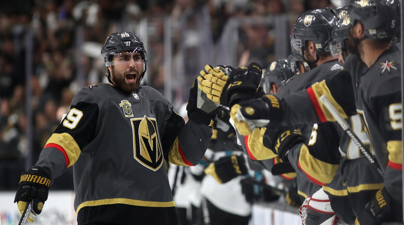 San Jose Sharks v Vegas Golden Knights - Game One