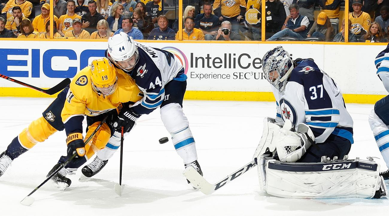 Winnipeg Jets v Nashville Predators - Game One