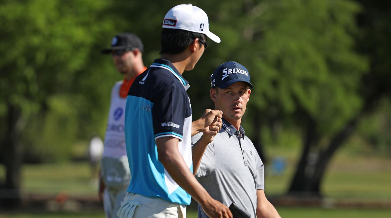 Reavie-Glover, Xhang-Dou share Zurich Classic lead