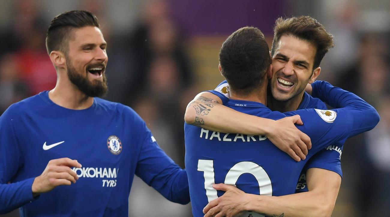 Cesc Fabregas Swansea Chelsea