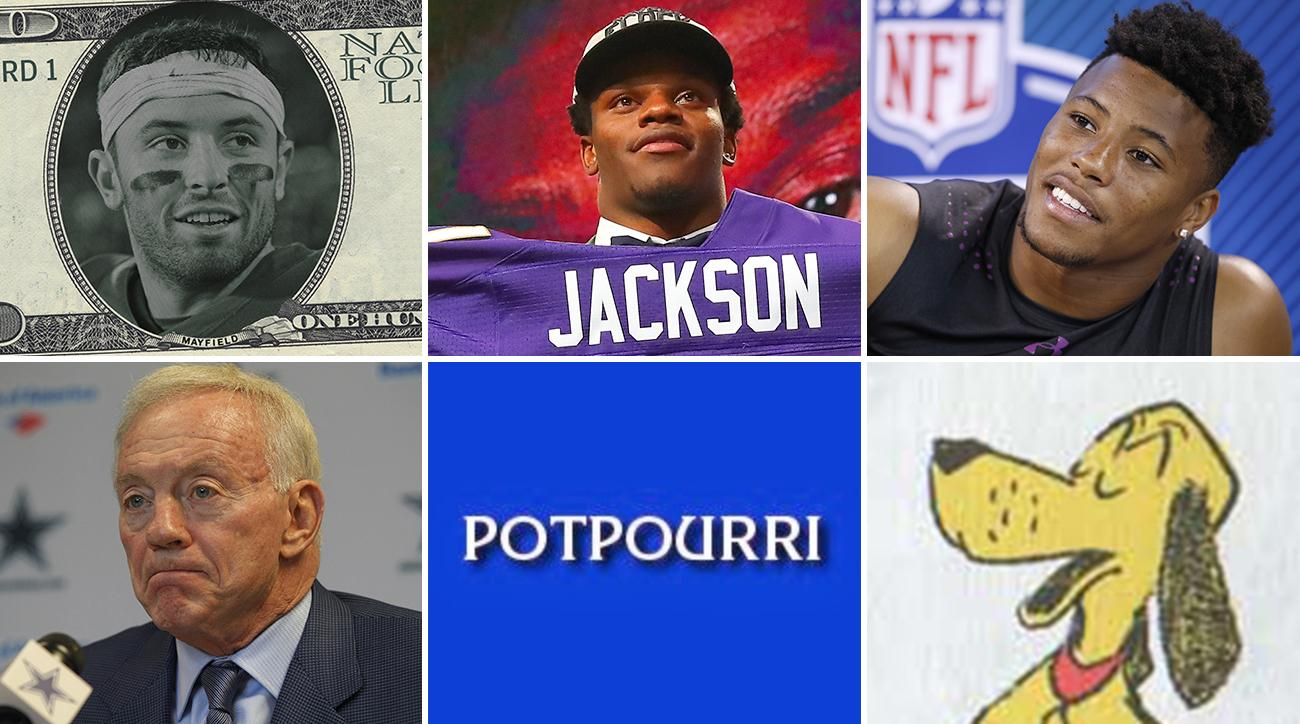 90f1b80fe76 It's Time to Abolish the Rookie Wage Scale, Why the Ravens Desperately  Needed Lamar Jackson, and Saquon Barkley is Not Solely a Running Back