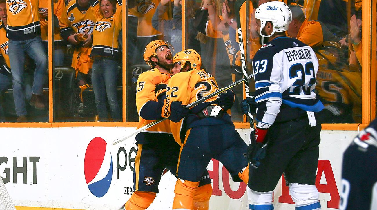 Subban leads Predators to playoff win over Jets