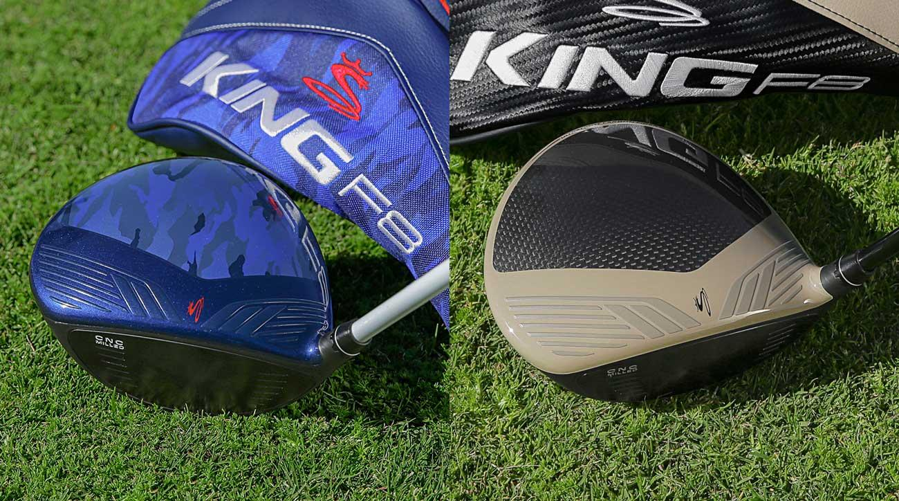 Cobra's a King F8 Blue Camo and Desert Sand drivers