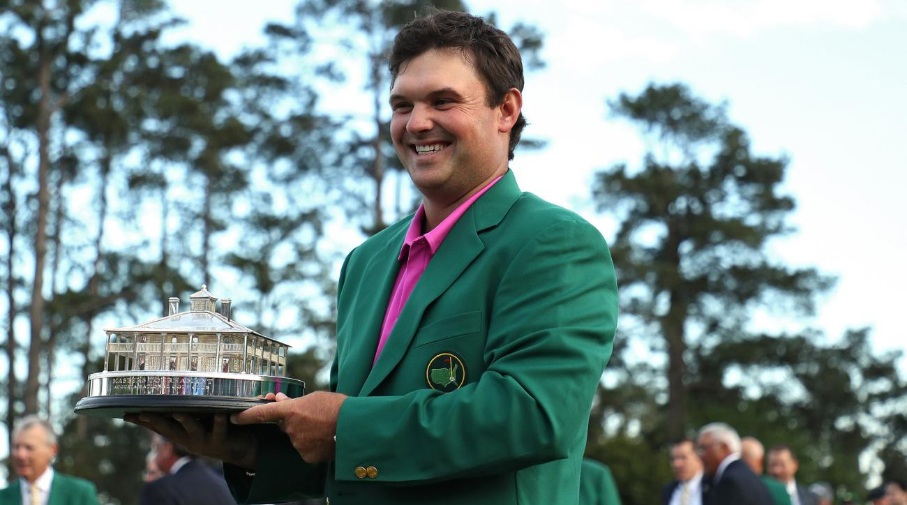 Patrick Smith wearing contacts winning masters
