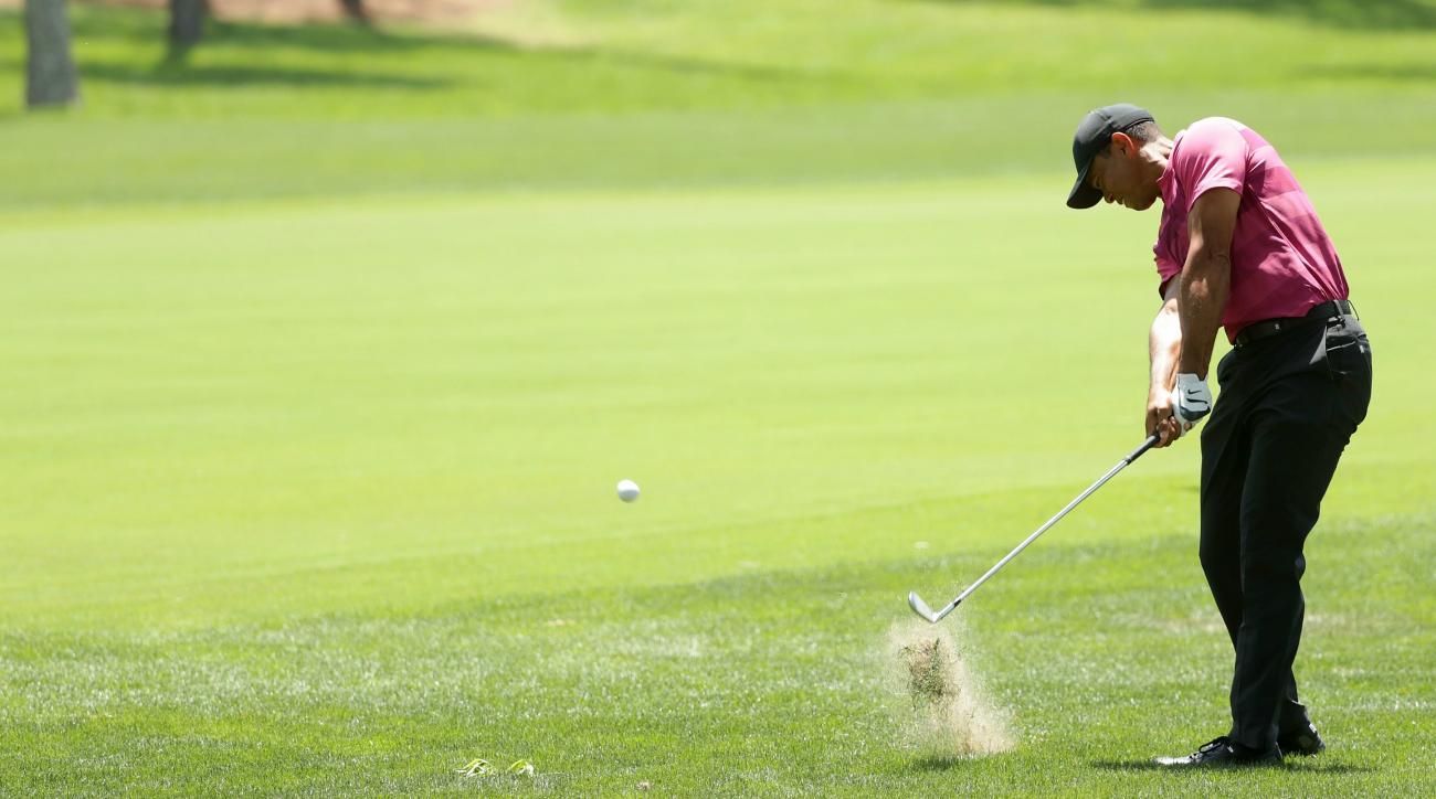 Tiger Woods tracker live updates Wells Fargo Championship