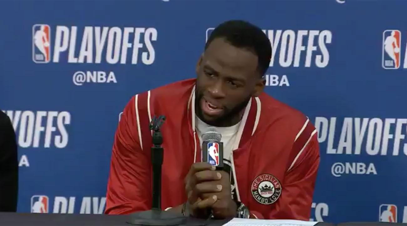 Draymond Green on role in dust up with Rajon Rondo