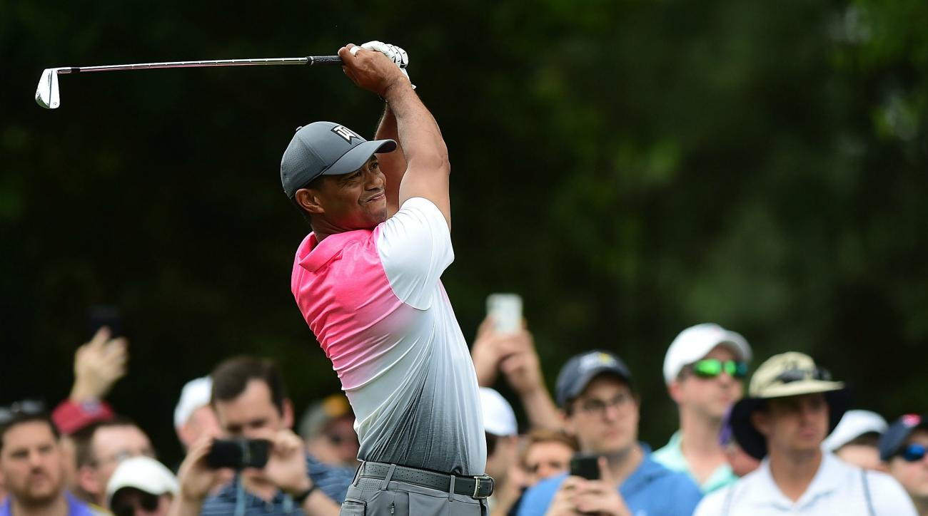 Tiger Woods score highlights analysis Friday Wells Fargo