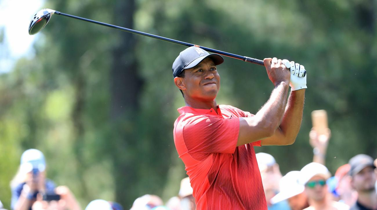 Tiger Woods score highlights analysis Sunday Wells Fargo