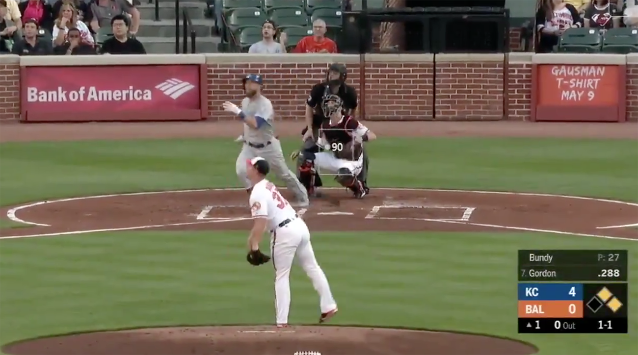 Orioles' Dylan Bundy Gives Up Four Home Runs Without Recording an Out
