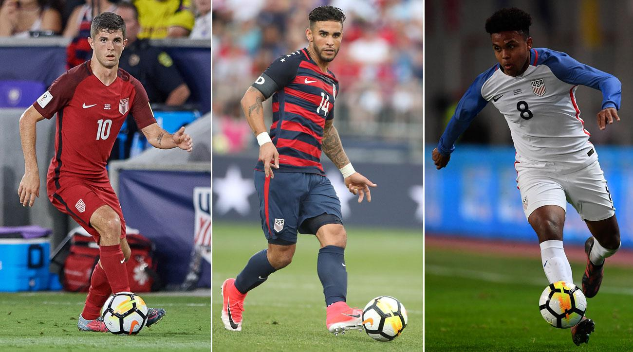 Christian Pulisic, Dom Dwyer and Weston McKennie should be in frame for the USA's upcoming friendlies