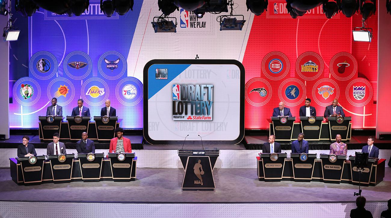 How to watch the NBA draft lottery
