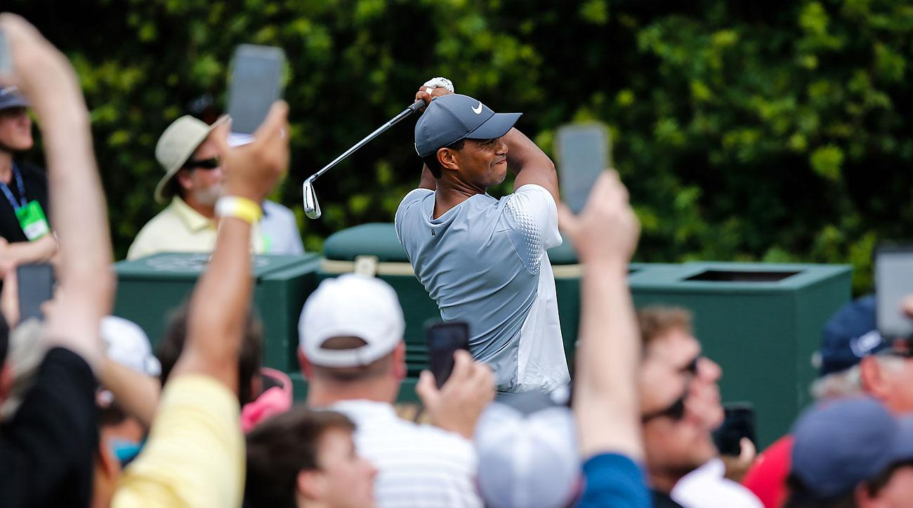 Tiger Woods, Round 3, 2018 Players Championship