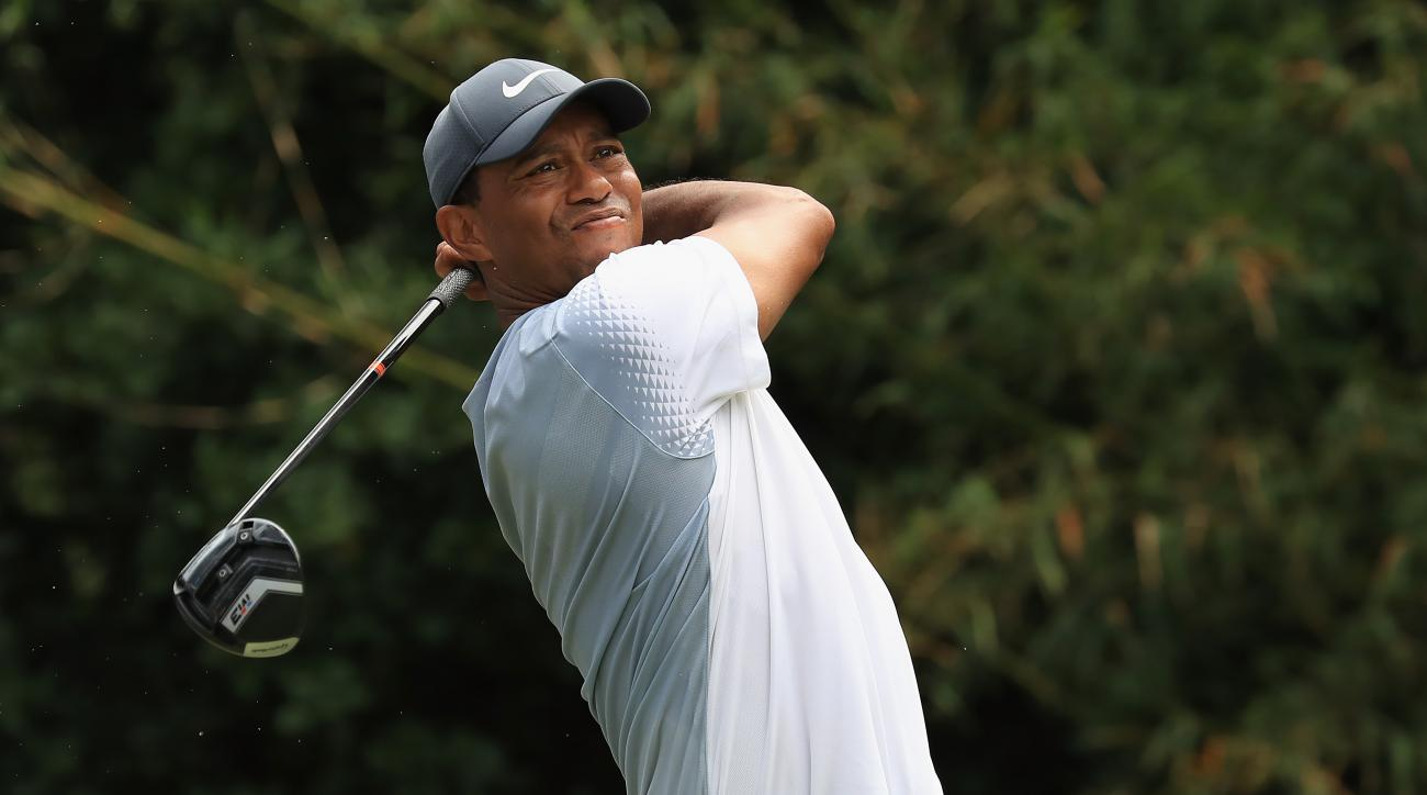 Tiger Woods shoots 65 on Saturday at the Players Championship