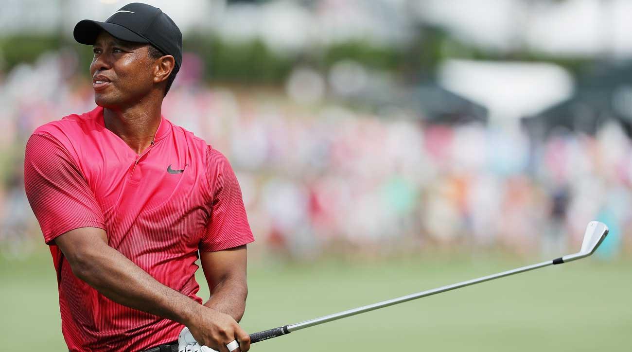 Tiger Woods finds form but can't halt Webb Simpson