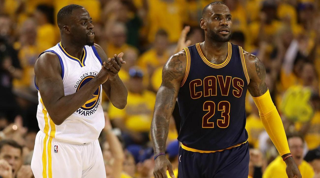 096892c689ad Draymond on LeBron s memory   He should ve gotten a standing ovation ...