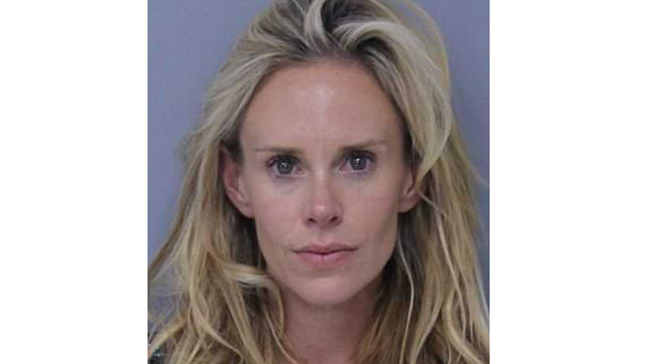 Krista Glover, 36, was arrested Saturday evening of the Players Championship.