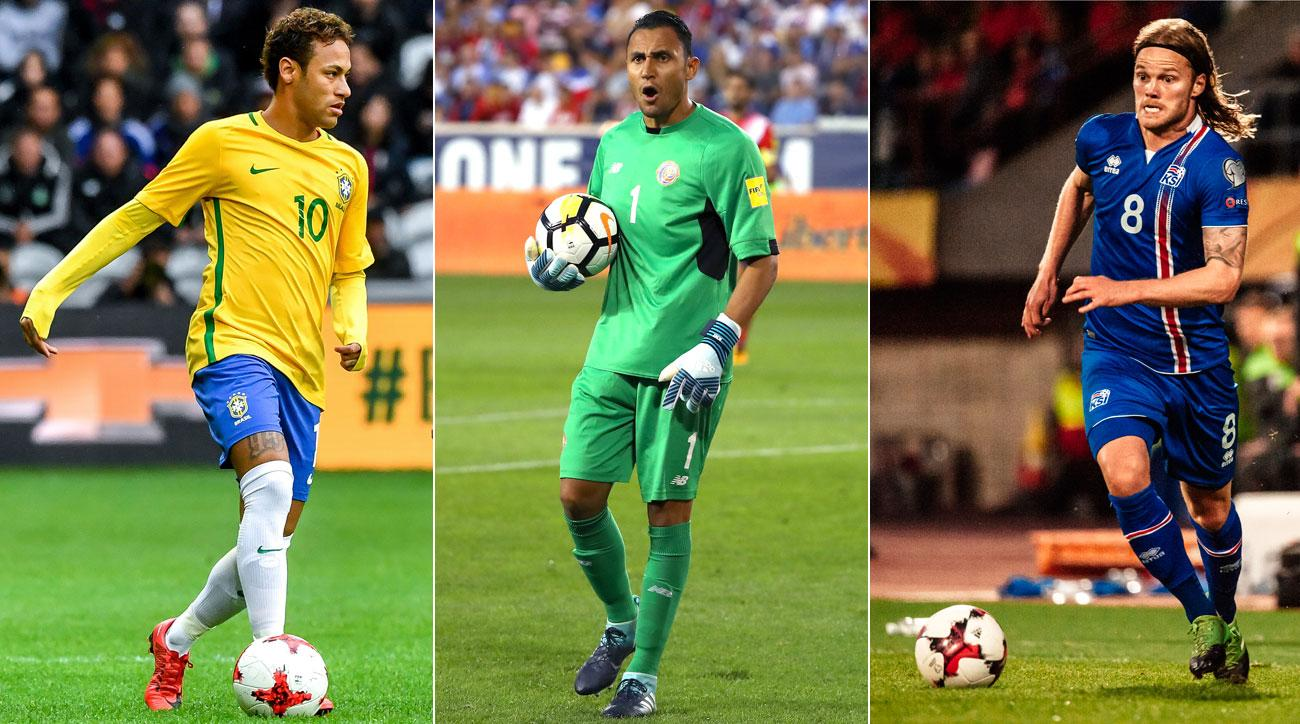 efe117c01 World Cup Rosters  Every nation s final squad for Russia 2018