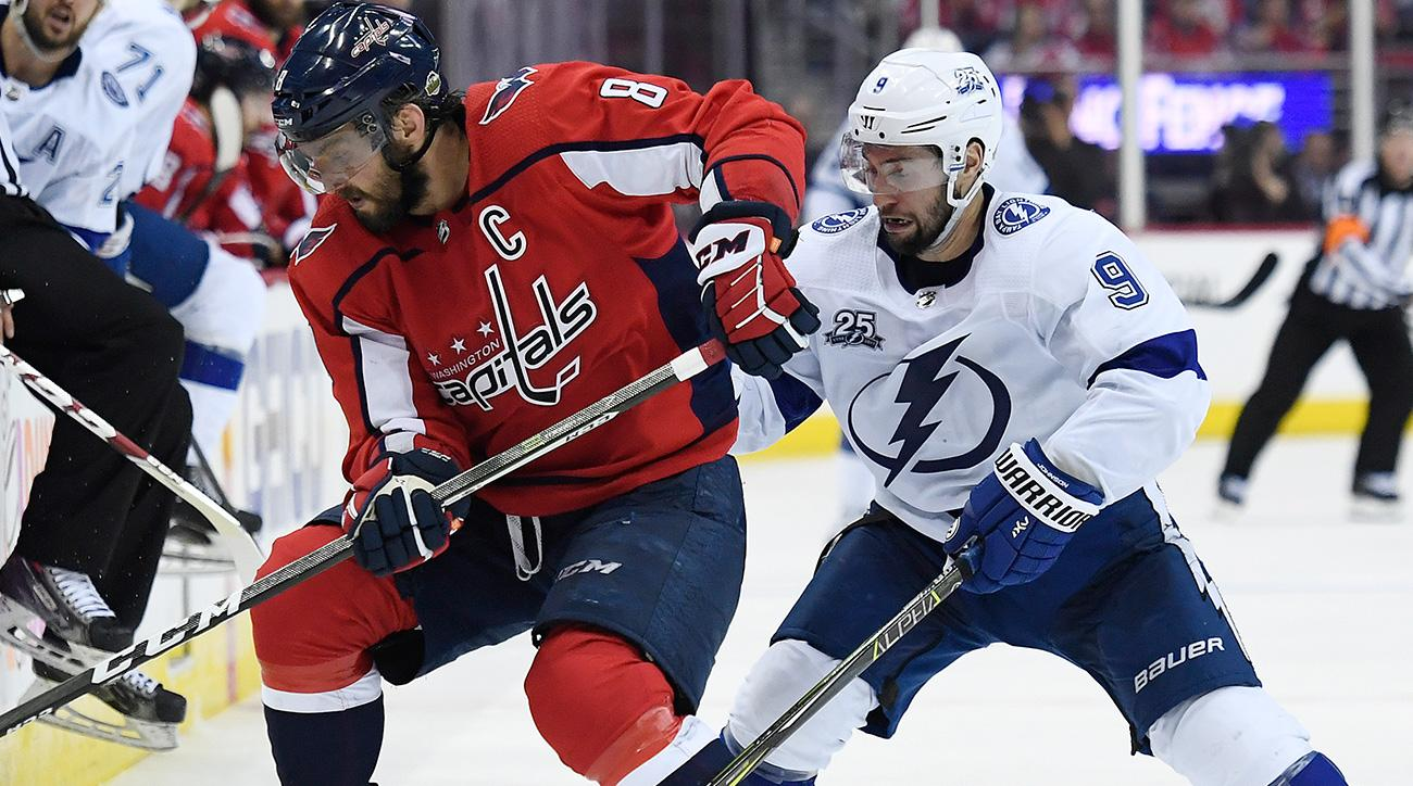 Tampa Bay Lightning look to even series vs. Washington Capitals
