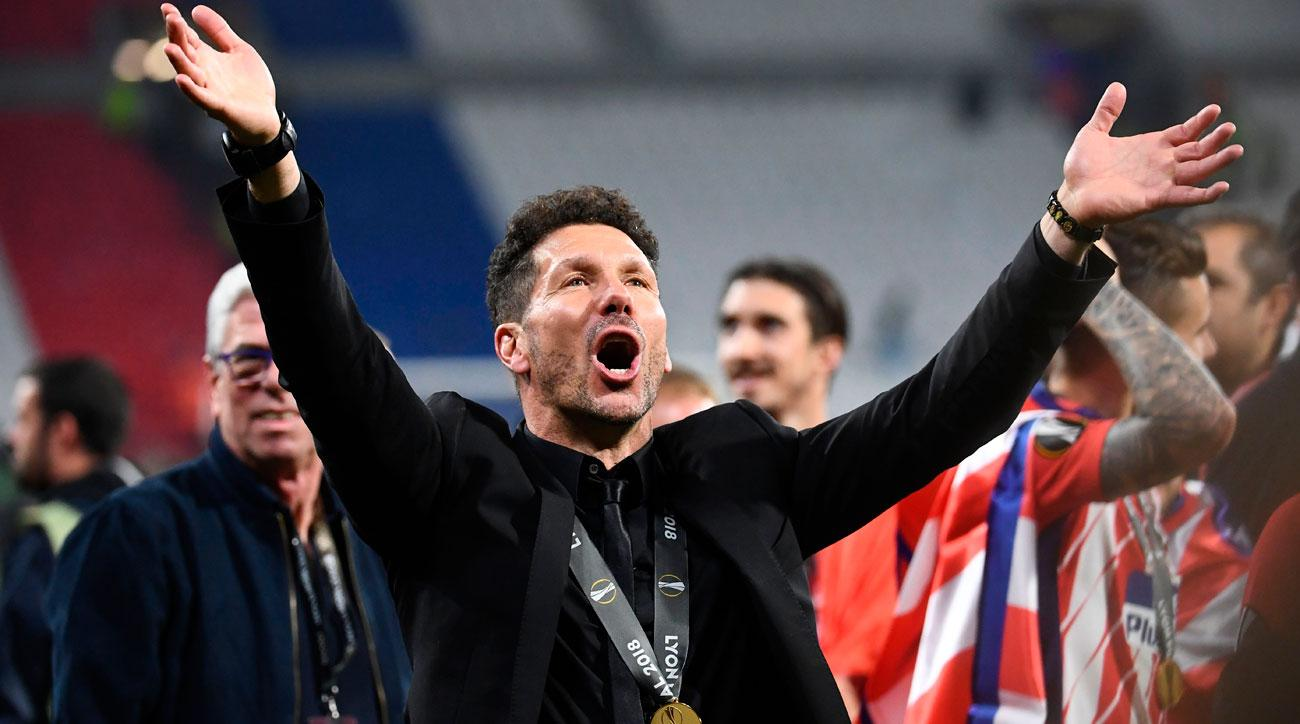 Diego Simeone's Atletico Madrid wins the Europa League title again