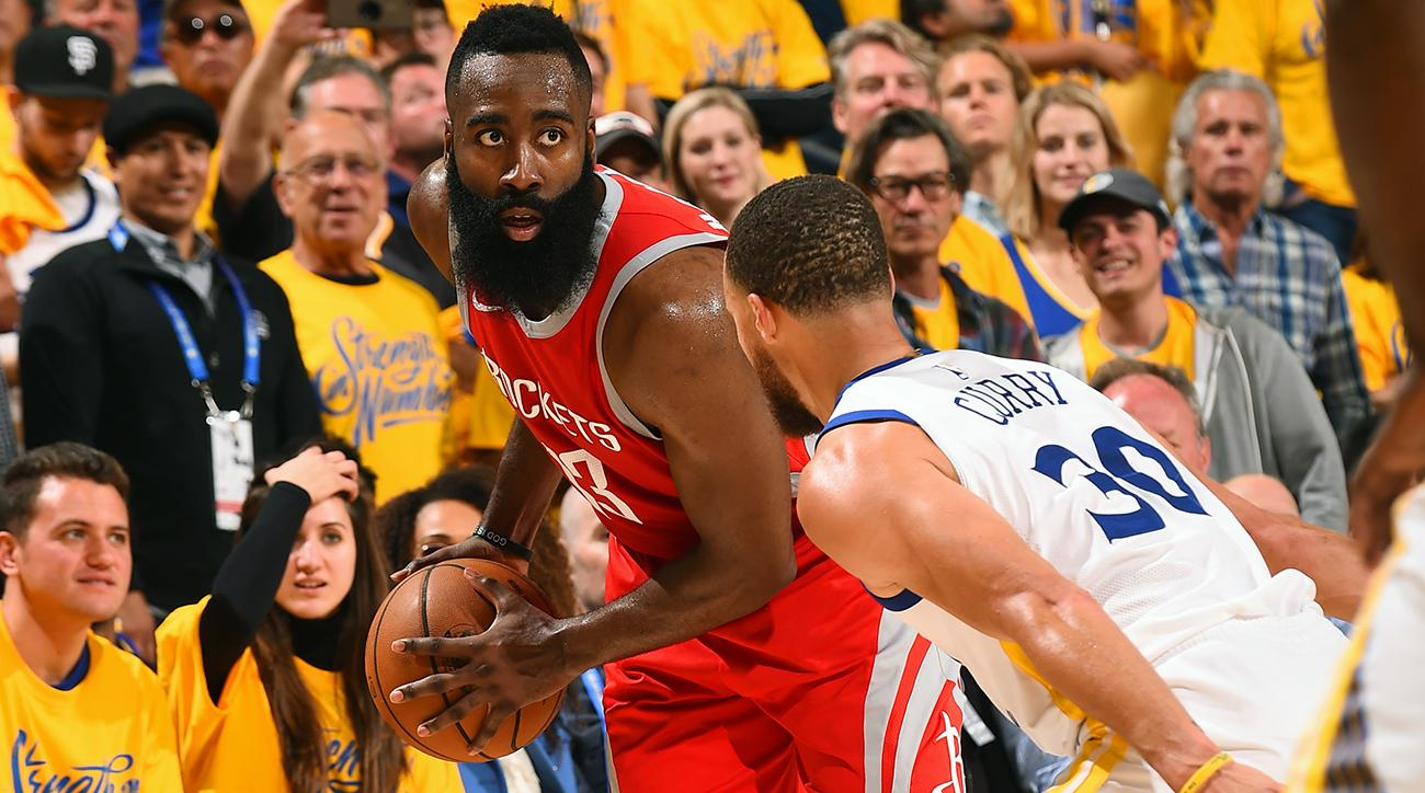 d5d495a67c7d James Harden s Reputation Hangs on His Response to Steph Curry s  Haymaker