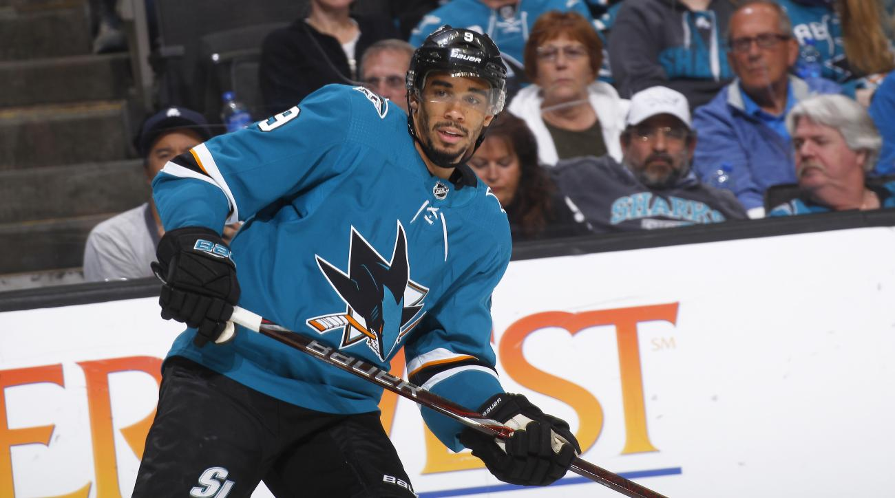 Evander Kane Agrees Upon Seven-Year Extension With Sharks