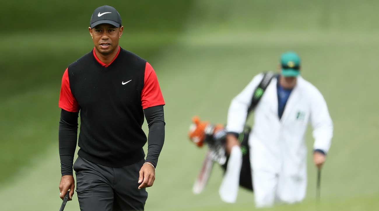 What would you pay to caddie for Woods for a day?