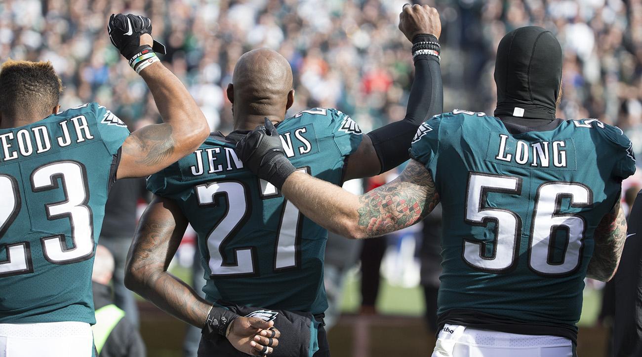 chris long, eagles, chris long national anthem protests, chris long anthem, national anthem debate