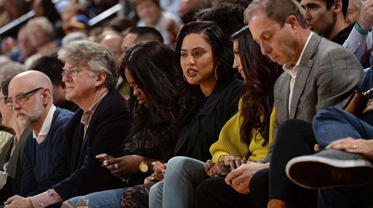 Ayesha Curry says heckling Rockets fan 'bumped' her in 'pregnant belly'