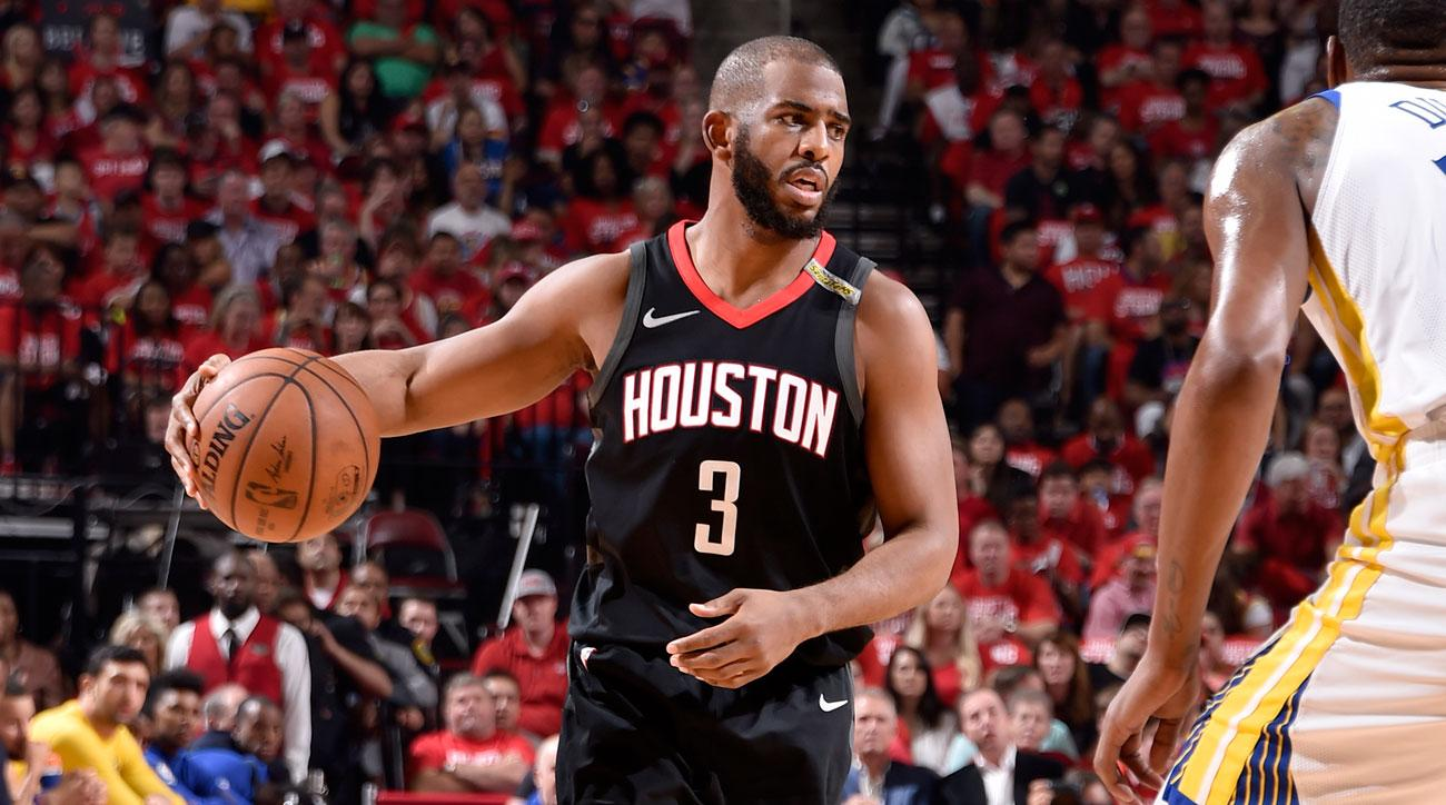 36c615f71ae5 NBA Playoffs  Rockets  Hopes Hang on Chris Paul s Hamstring