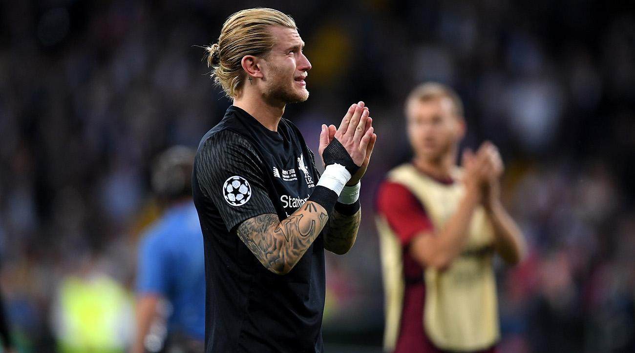 Loris Karius Champions League: Liverpool Goalkeeper